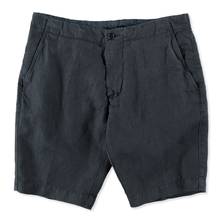 Washed Linen Shorts