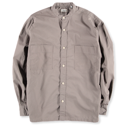 Korean Col Relaxed Overshirt