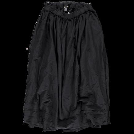 Layer Detail Skirt Drawstring