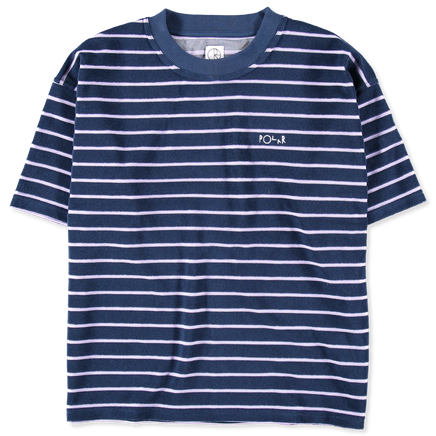 Striped Terry Surf Tee