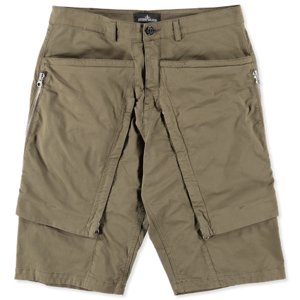 6815L0208 V0054 Zip Pockets Bermuda Shorts