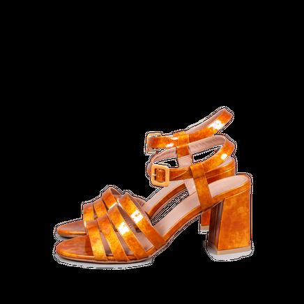 Palma Sandal Flame Glitter