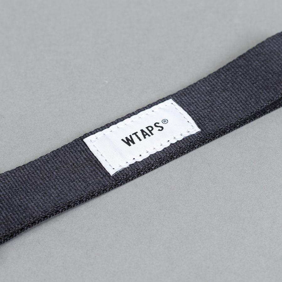 Nylon Strap Key Holder Black