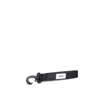 Nylon Strap Key Holder Black
