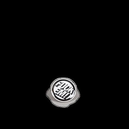 Metal Badge Black