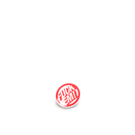 Metal Badge Red
