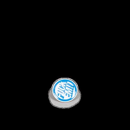 Metal Badge Blue