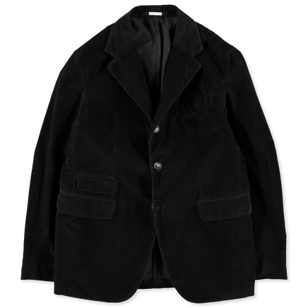 3 Button Washed Cord Suit