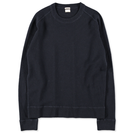 Washed Cashmere Sweatshirt