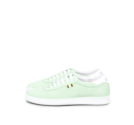 Suede Low Lime