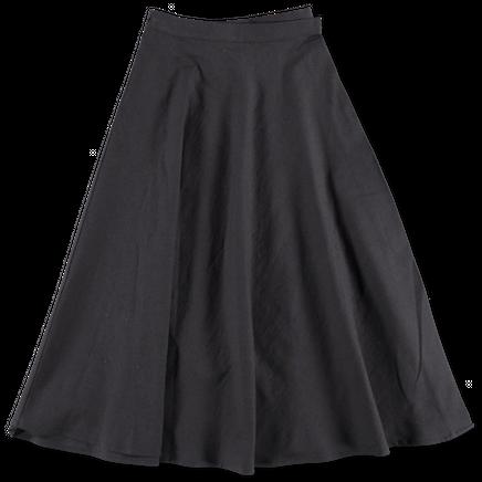 Paso Skirt Raw Silk