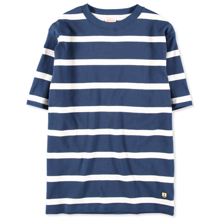 Block Stripe Loose Tee