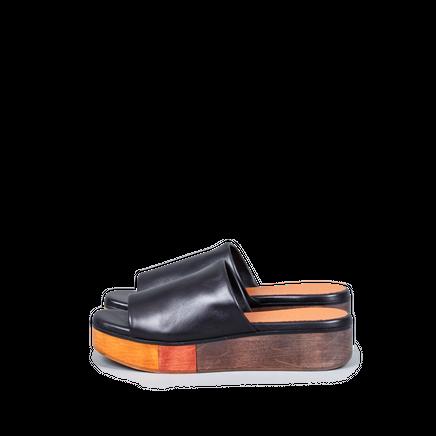 Quena Slip-In Sandal Wood Sole