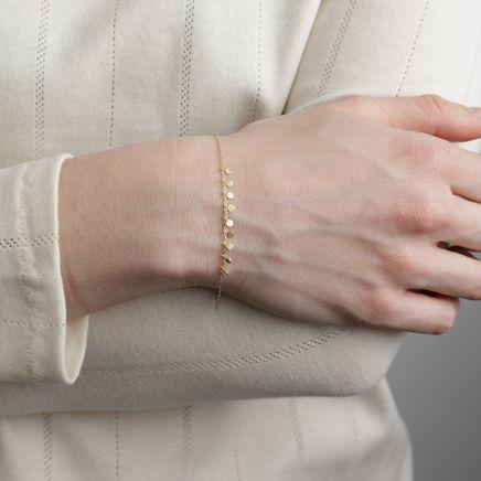 Nine Dots Bracelet 18k