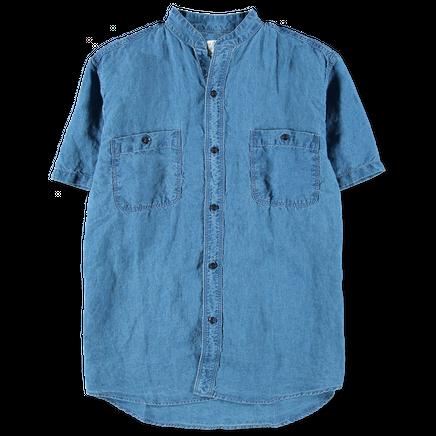 Stand Collar S/S Shirt