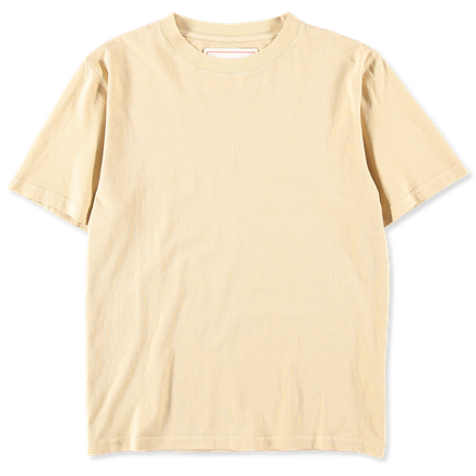 Luz Cotton T-Shirt Pale Yellow