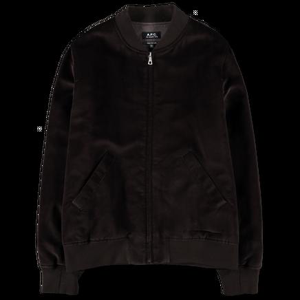Barett Velvet Bomber Jacket