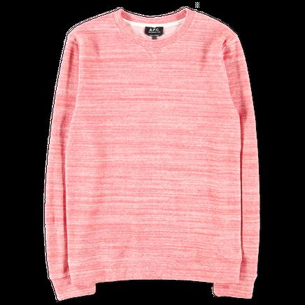 Max Melange Stripe Sweatshirt