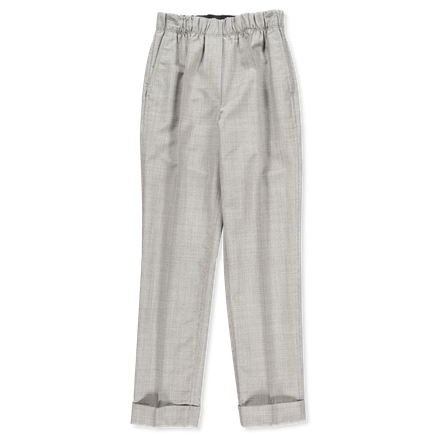 Pull On Wool Suit Trouser