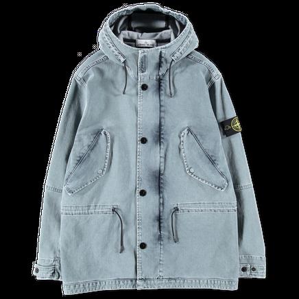 681545133 BLEACH Foam Resin Treat Denim Jacket