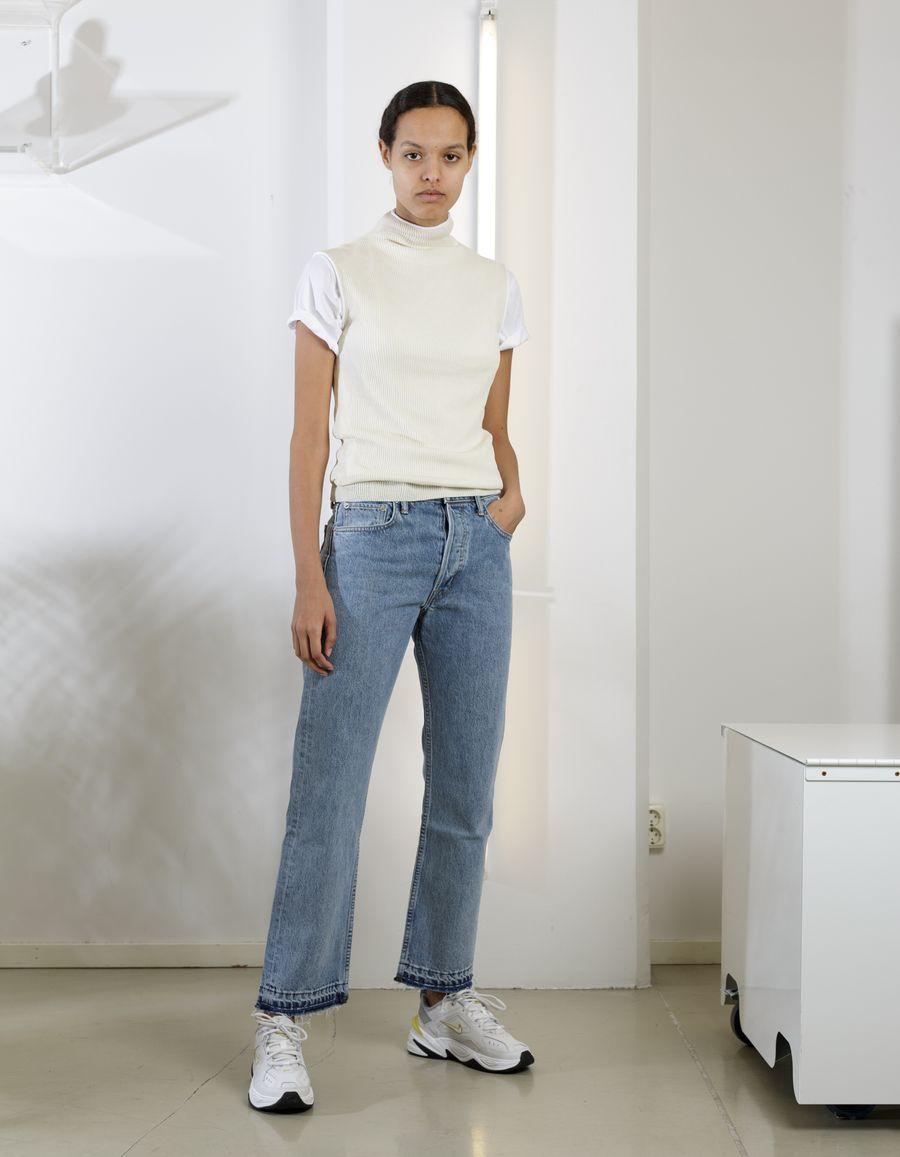 New Crop Straight Jean Hi Rise