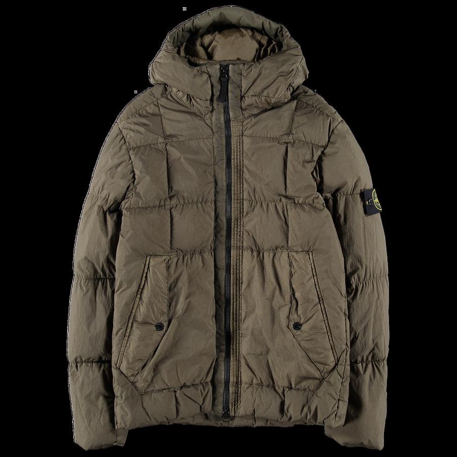 Stone Island Jaket Tracktop Rsch Premium 691541223 V0058 Gd Crinkle Reps Down Jacket