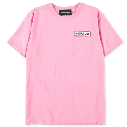 Adult Line Pocket T-Shirt