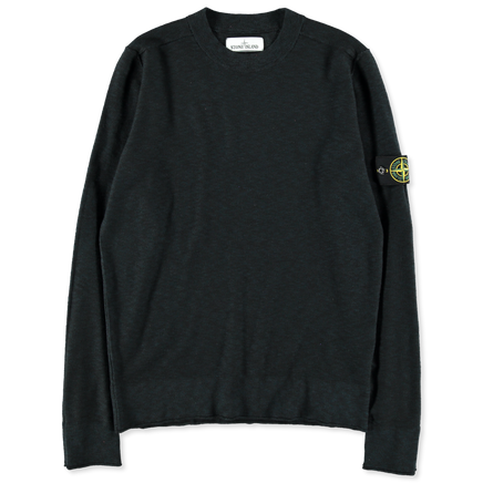 6915544B2 V0020 Slub Light Crew Neck Knit