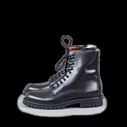 Lug Sole Combat Boot