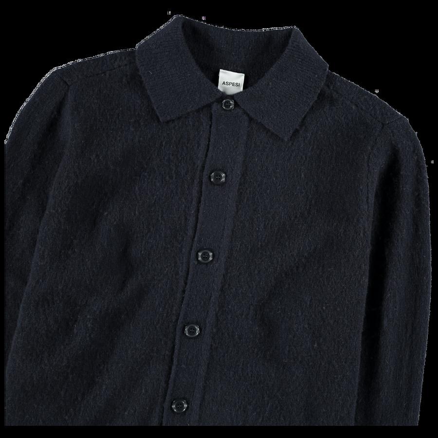 Knitted Overshirt Jacket