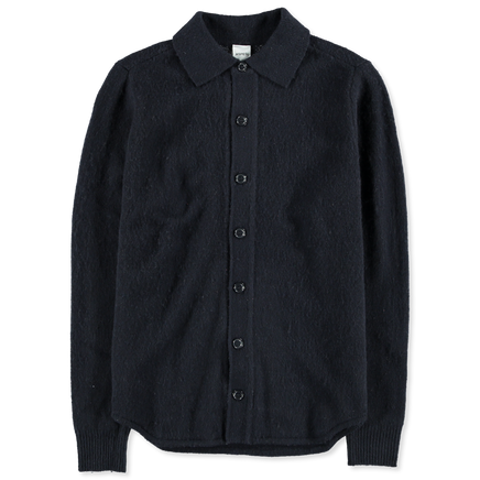 Knitted Overshirt Jacket
