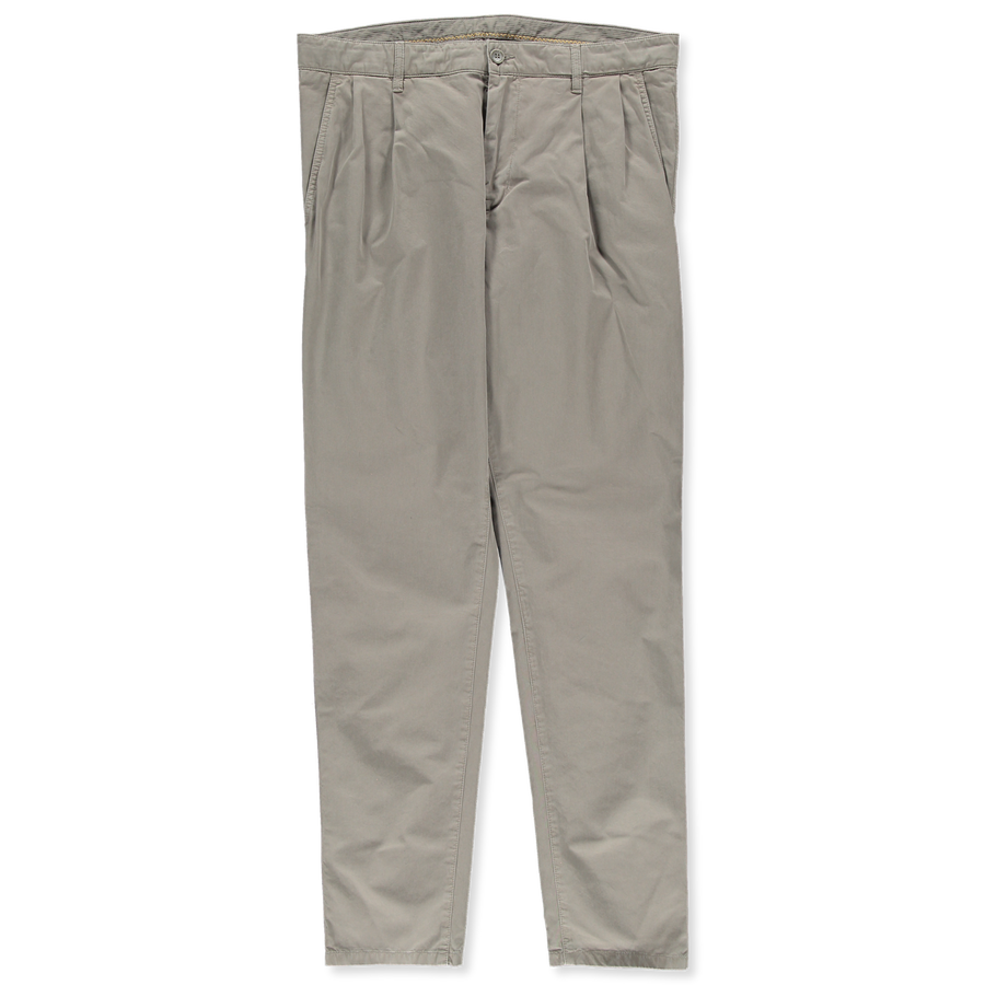 Washed Pleated Drawstring Pant