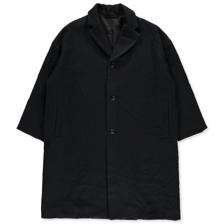 Blobby Wool Flannel Coat
