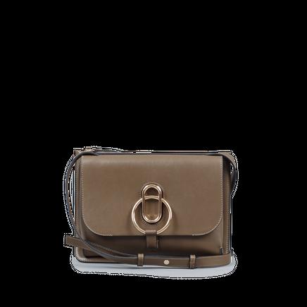 Maya Leather Bag Caribou