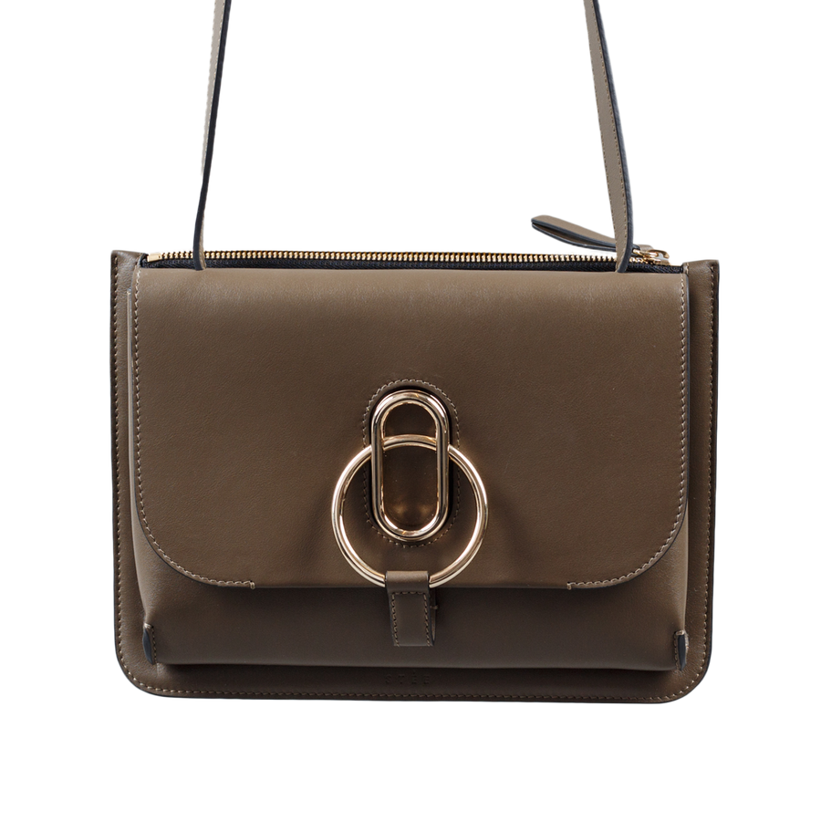 Maya Leather Bag Caribou