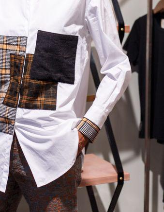 Lina Patchwork Shirt