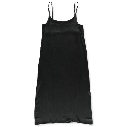 Long Slip Dress Silk