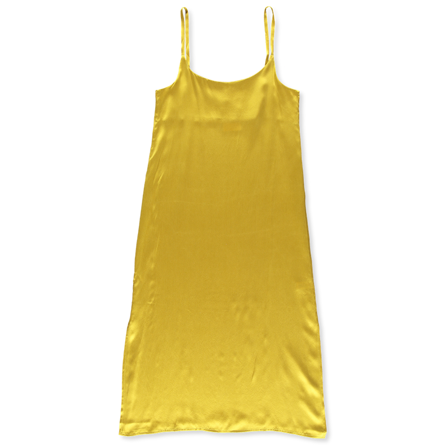 Long Slip Dress Silk
