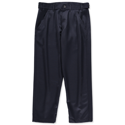 Straight Leg Worker Wool Pant