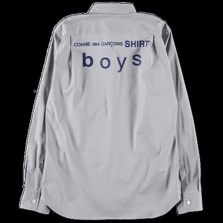 Boys Back Print Shirt