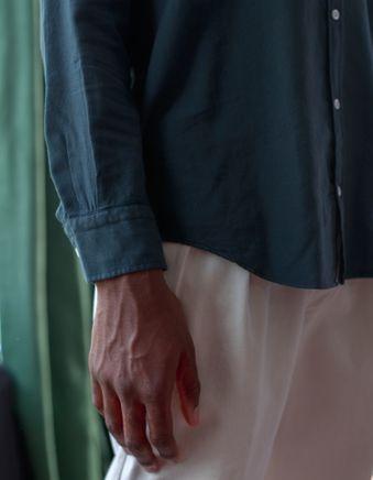 Brera Pleated Cotton Trouser