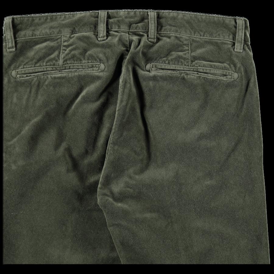 Washed Velvet Trouser