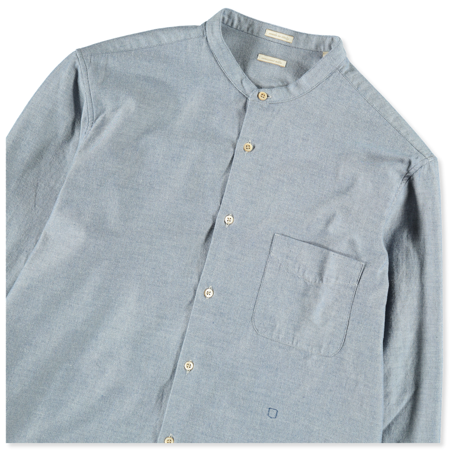 Korean Collared Washed Shirt