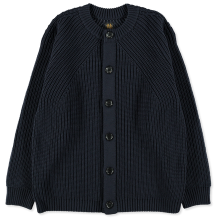Signature Rib Wool Cardigan