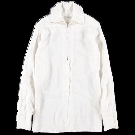 High Collar Shirt Dry Silk