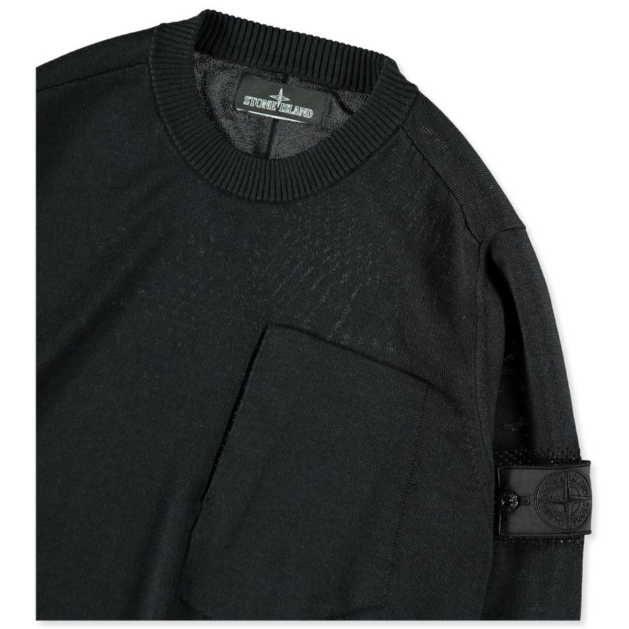 6919501A4 V0029 Chest Pocket Knit