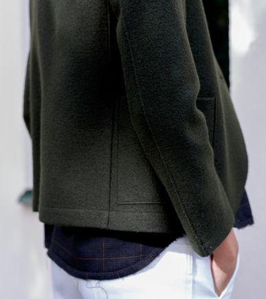 Short Boyfriend Jacket