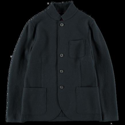 Wool Standing Collar Jacket