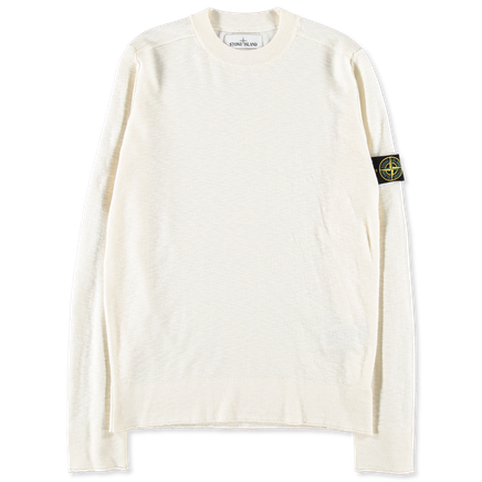6915544B2 V0099 Slub Light CrewNeck Knit