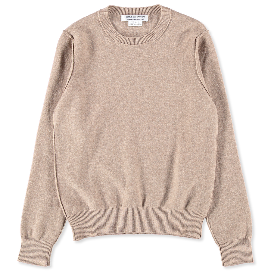 Carded Lambswool Sweater